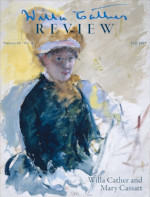 Willa Cather Review Vol. 60 No 1