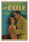 """Poster from Oscar Micheaux's """"The Exile,"""" 1931"""