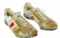 Carl Lewis's track shoes, 1994