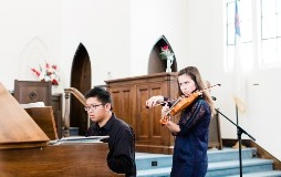 Kevin and Heidi Cheng violin-piano duo